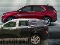 The all-new 2018 Chevrolet Equinox is a fresh and modern SUV sized and designed to meet the needs of the compact SUV customer. Its expressive exterior has an all-new, athletic look echoing the global Chevrolet design cues seen on vehicles such as the Cruze, Bolt EV and 2017 Trax.