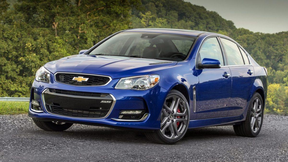 Chevrolet SS terá produção encerrada no final de 2017