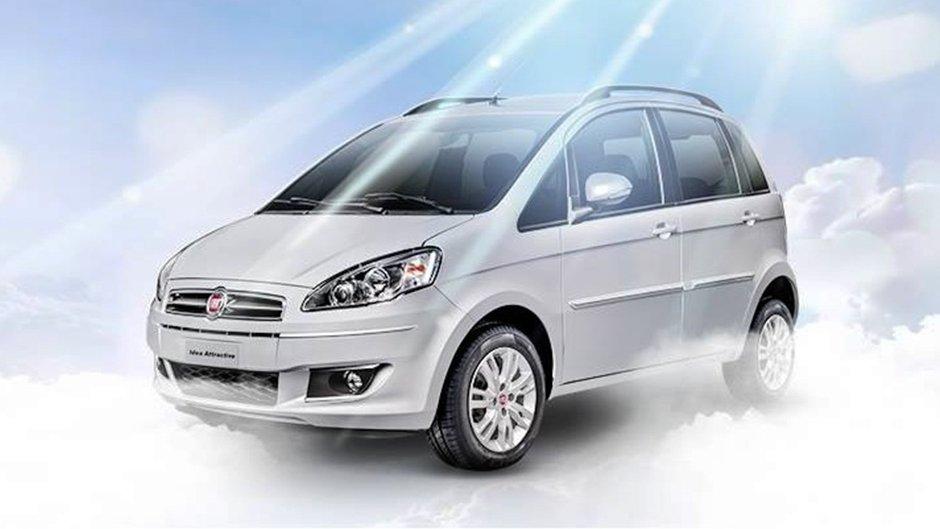 Fiat tira de linha Bravo, Idea, Linea, Freemont e Doblò Cargo