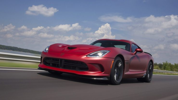 """2015 Dodge Viper GTC painted in """"1 of 1"""" custom matte finish"""