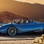 Pagani Huayra Roadster é revelado com mais potência e menos peso que o cupê