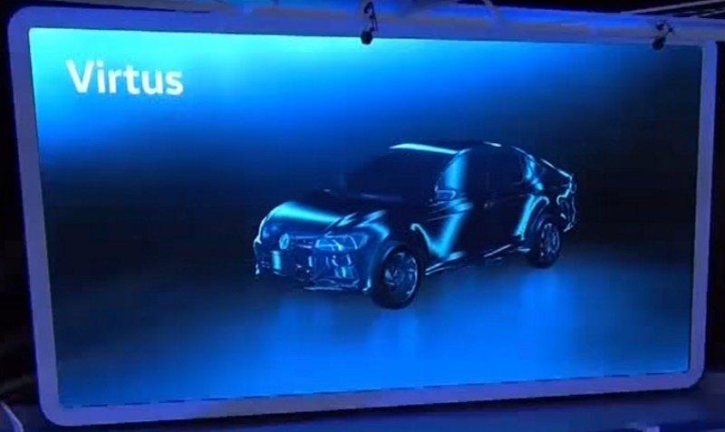 Volkswagen Virtus: novo sedã criado para o Brasil será lançado ainda em 2017
