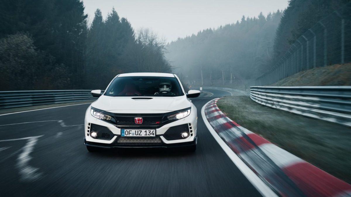 Vídeo - Honda Civic Type-R bate recorde em Nurburgring