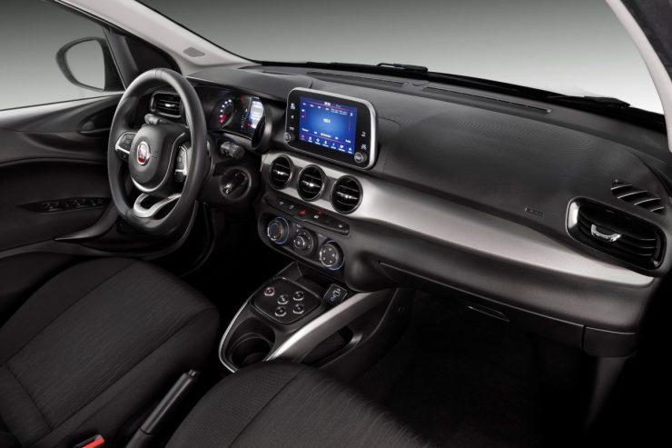 Interior do Fiat Argo Drive 1.3 GSR