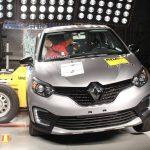 Renault Captur leva quatro estrelas nos testes de colisão do Latin NCAP