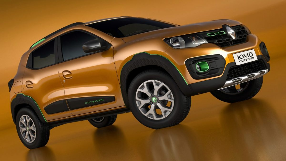 Renault Kwid terá preços entre R$ 29.990 e R$ 34.990