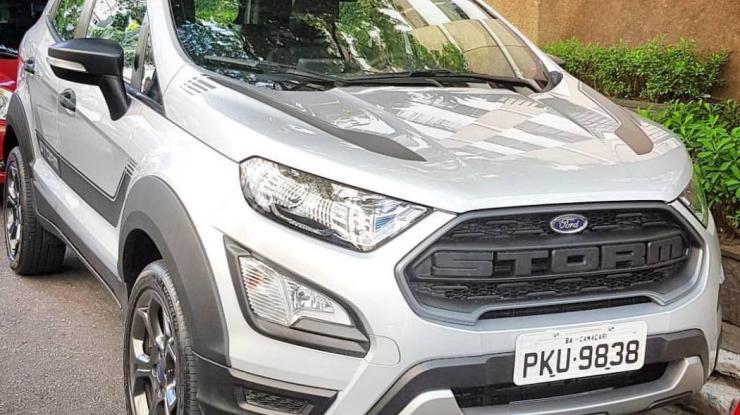 Ford EcoSport terá versão Storm com tração 4×4