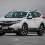Nova geração do Honda CR-V chega em abril com motor turbo e mais itens de segurança
