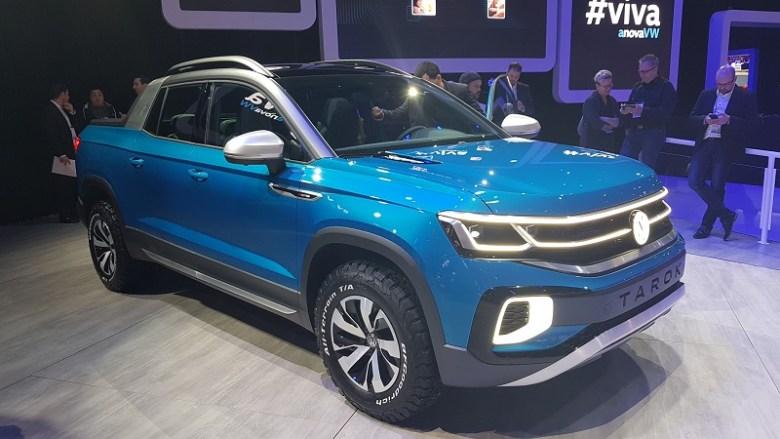 Salão de São Paulo 2018: VW mostra sua picape anti-Toro faz estreia oficial do T-Cross