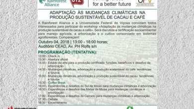 Photo of INSCRIÇÕES ABERTAS PARA WORKSHOP GRATUITO SOBRE MUDANÇAS CLIMÁTICAS E PRODUÇÃO SUSTENTÁVEL