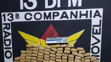 Photo of HOMEM É PRESO COM 380 KG DE MACONHA QUE SERIAM TRANSPORTADAS PARA PONTE NOVA