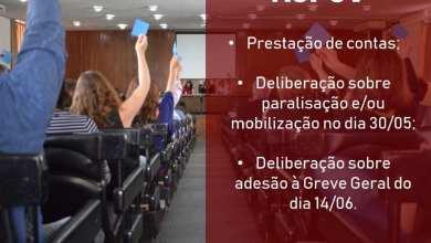 Photo of ASSEMBLEIA HOJE NA ASPUV IRÁ DEBATER ADESÕES A MOBILIZAÇÃO NO DIA 30/05 E GREVE GERAL DIA 14/06