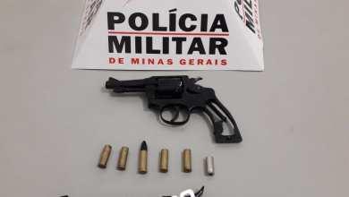 Photo of PM PRENDE SUSPEITO E APREENDE 3 ARMAS EM ZONA RURAL DE ERVÁLIA