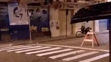 Photo of Diretran realiza revitalização da sinalização horizontal no Centro