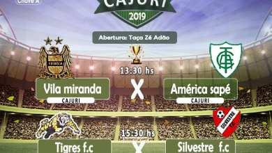 Foto de Começa neste domingo (08) o 1º Campeonato Intermunicipal de Cajuri 2019