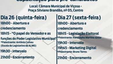 """Photo of Câmara realiza evento """"Eleições 2020: capacitação para pré-candidatos"""""""