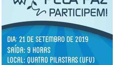 Photo of 6ª Caminhada pela Paz acontece no dia 21 de setembro