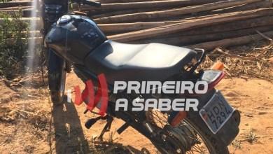 Photo of Moto furtada em Viçosa é recuperada na estrada que liga a São Miguel do Anta