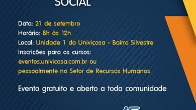 Photo of UNIVIÇOSA comemora 15 anos com Feira de Responsabilidade Social