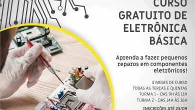 Photo of Prefeitura de Viçosa oferece curso gratuito de Eletrônica Básica