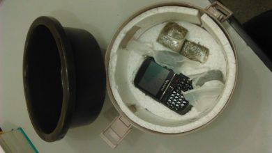 Photo of Celular é apreendido em vasilha de feijão na penitenciária de Ponte Nova
