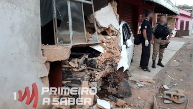 Photo of Motorista é detido após bater com carro em casa em Teixeiras