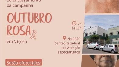 Photo of Participe do Megaevento de encerramento da campanha Outubro Rosa neste sábado em Viçosa