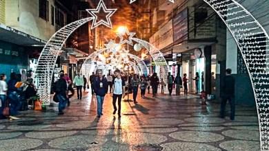 Foto de Participe da Inauguração das Luzes de Natal do Centro Comercial de Viçosa