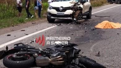 Photo of Motociclista morre após colidir em veículo com placa de Viçosa em Nova Era