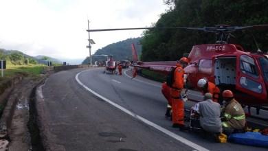 Photo of Duas pessoas morrem após colisão com ônibus de excursão de MG na Serra do RJ