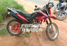 Photo of Motocicleta roubada é recuperada próximo ao Paraíso
