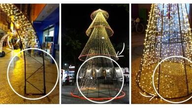Photo of Iluminação de Natal sofre atos de vandalismo