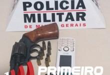 Photo of Homem é preso após atirar próximo a casa da ex-companheira em Teixeiras