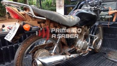 Photo of Motocicleta furtada por dois adolescentes em São Miguel do Anta é recuperada pela polícia