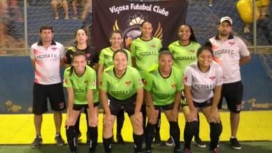 Photo of Viçosa Futebol Clube é semifinalista no Campeonato Regional de Futsal de Canaã