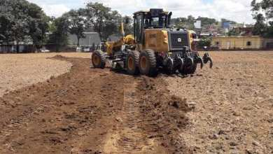 Photo of Obra de recuperação do Campo do Barreiro é iniciada em Visconde do Rio Branco