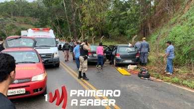 Photo of Colisão entre veículos na estrada que liga a São José do Triunfo