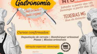 Photo of Festival Gastronômico será realizado em Teixeiras