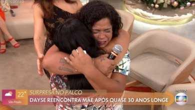 Photo of Moradora de Viçosa reencontra mãe após 29 anos no Encontro com Fátima Bernardes