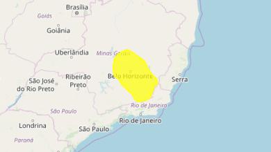 Photo of Inmet emite alerta de perigo para chuvas intensas em Viçosa e outras 16 cidades da região