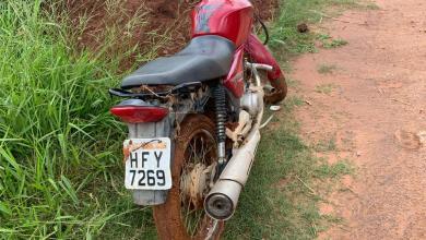 Photo of Motocicleta roubada é recuperada pela polícia na zona rural de Araponga