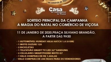 Photo of Último sorteio da Casa do Empresário acontece neste sábado (11)