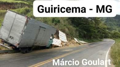 Photo of Caminhoneiro sofre acidente na serra de Guiricema