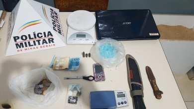 Photo of Dois homens são presos com drogas e munições em Teixeiras; um deles é foragido da Justiça