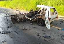 Photo of Homem morre em acidente entre carro e caminhão na rodovia entre Ponte Nova e Viçosa