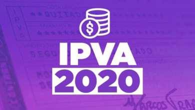 Photo of Vencimento do IPVA 2020 começa nesta segunda-feira (13)