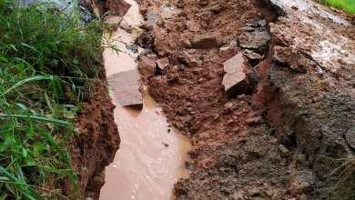Photo of Buraco se transforma em cratera e MG-353 entre Juiz de Fora e Coronel Pacheco não tem previsão de liberação