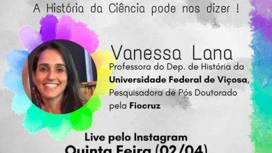 Photo of Professora da UFV fará live para explicar participação da ciência em epidemias