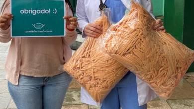 Foto de São Miguel do Anta recebe doação de 500 máscaras de projeto de BH