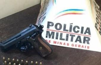 Photo of PM apreende arma de fogo no Meu Sonho em Ubá